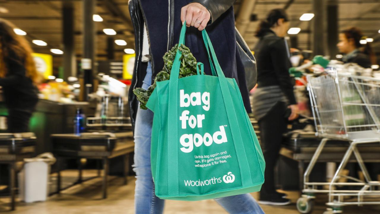 Shoppers will be slugged more at the checkout if they don't come armed with their own bags.