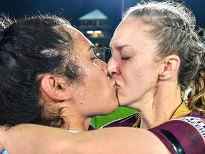 Picture of Origin players kissing leads to backlash