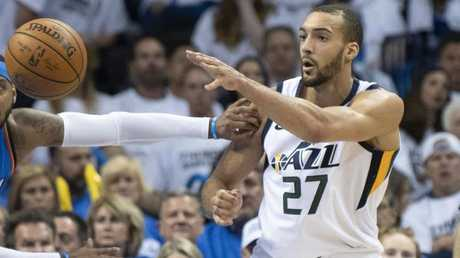 No one is expected to challenge stopper Rudy Gobert in the Defensive Player of the Year award. Picture: Getty Images/AFP