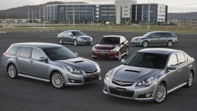 Subaru Liberty range, 2010: Reliable and with good retained value