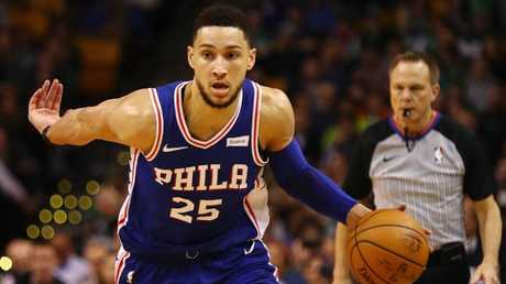 It's no surprise Ben Simmons is the ROY favourite. Picture: Getty Images/AFP