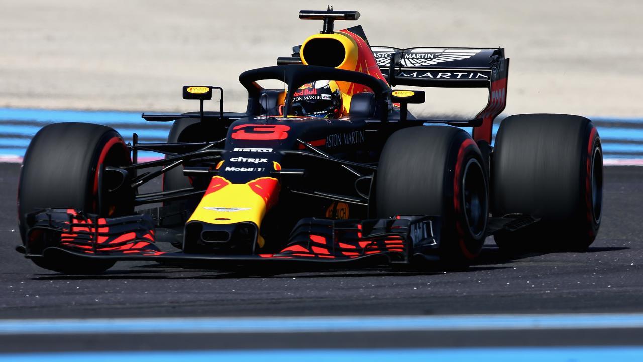 Daniel Ricciardo registered the second fastest time in Practice 2.