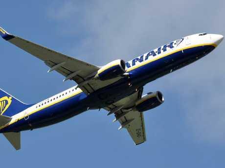 A Ryanair passenger was shocked. Picture: Eric Salard