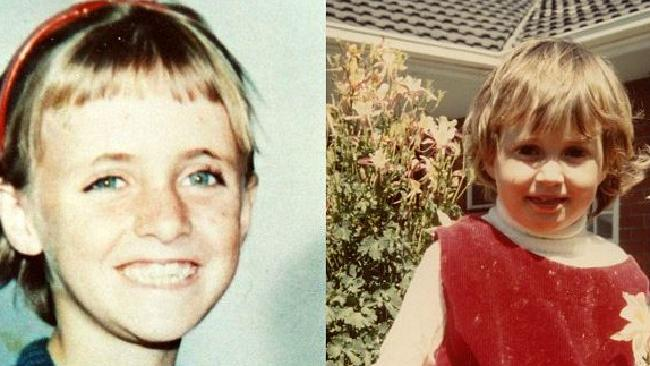 Joanne Ratcliffe, 11 and Kirste Gordon, 4, vanished from Adelaide Oval in 1973 in a case often compared to the missing Beaumont children. Picture: Supplied