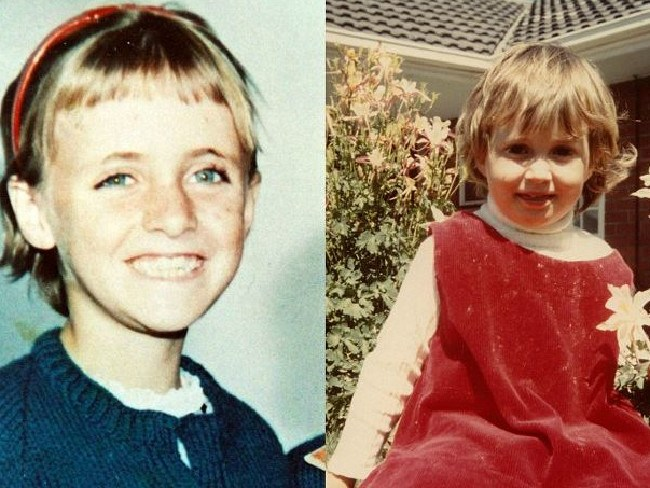Joanne Ratcliffe, 11, and Kirste Gordon, 4. Picture: Supplied