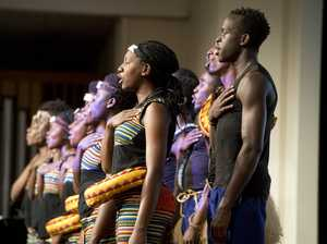 Ugandan choir thrills audience