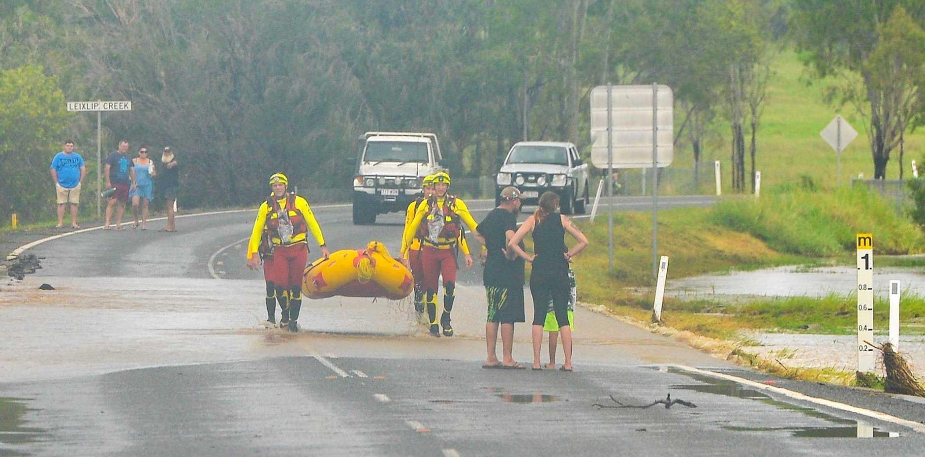 REPAIRS: Ex-tropical cyclone Debbie   left behind plenty of damage across Queensland.