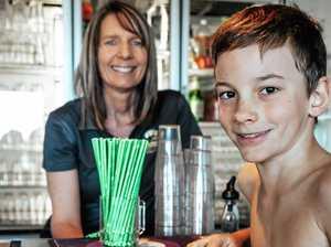 Tannum Sands boy instigates Surf Club's plastic straw ban