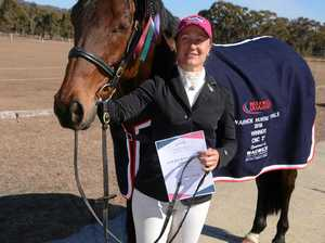 Caboolture rider wins from Allora horsewoman in eventing