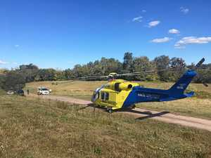 Man airlifted after Gympie region bike crash