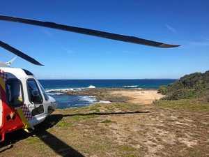 Chopper rescues walker in national park
