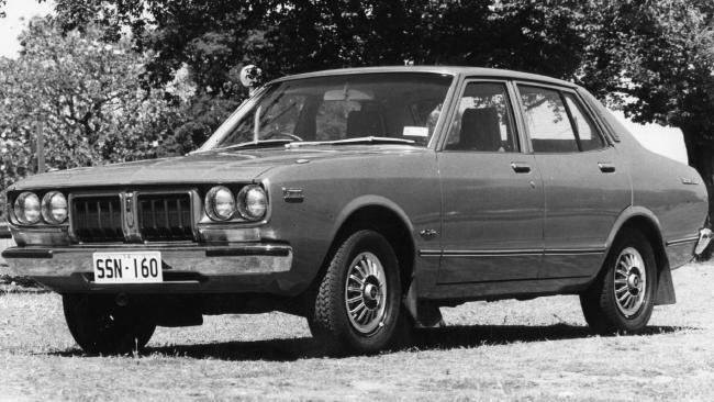 Family car: Datsun 200B