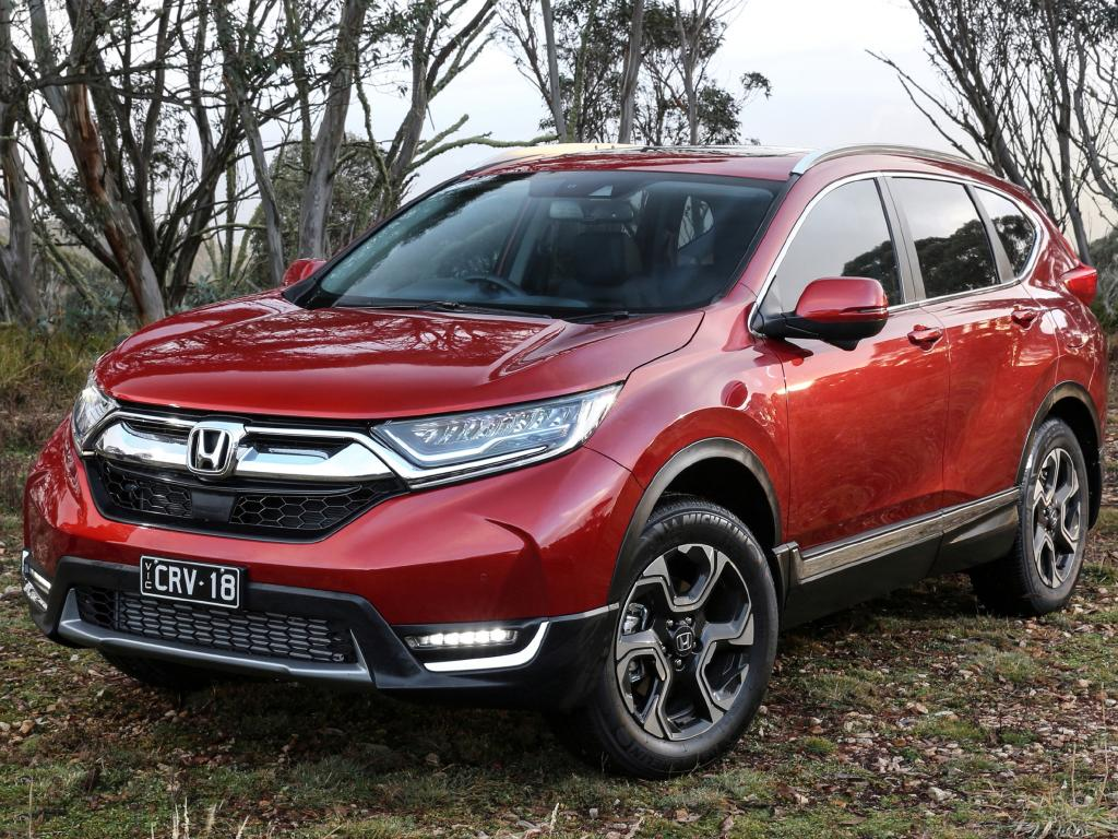 The VTi-LX is the only car in Honda's CR-V range with active safety features