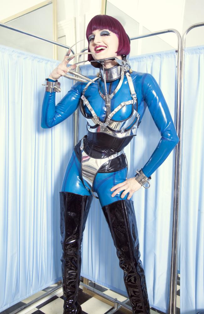 Mistress Tokyo says people who seek BDSM experiences are looking for a release from their daily life. Picture: Lucas Konrad Messerer at Soul Focus Studio
