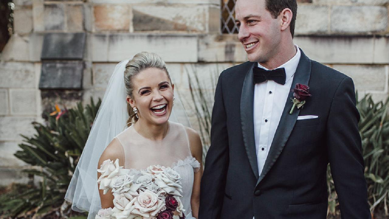 Emma Freedman has married her partner Charlie Rundle in Sydney. Picture: @emmafreedman