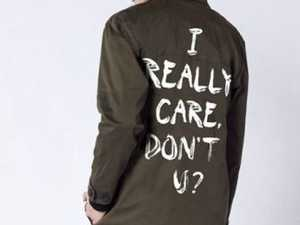 Wildfang, a US based clothing company has released a 'I really care', in response to Melania's fashion choice.