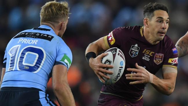 How Queensland will miss him. (AAP Image/David Moir)