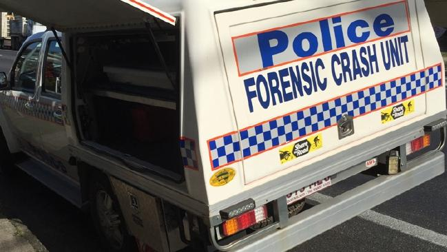 The Forensic Crash Unit is also investigating.