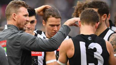 Coach Nathan Buckley's faith in Thomas is reaping rewards for the club.