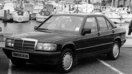 First car: Mercedes Benz 190E