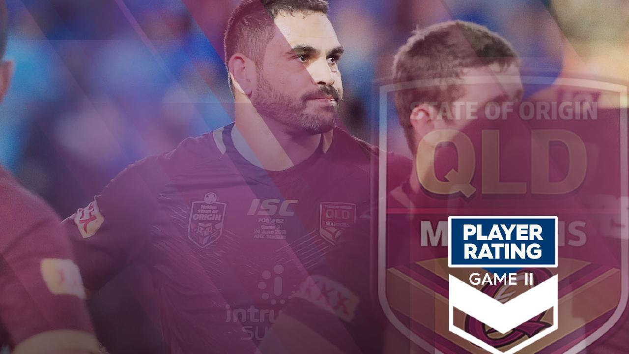 QLD Maroons player ratings for Game Two.