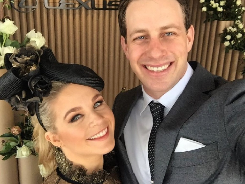 Emma Freedman with now-husband Charlie Rundle. Picture: Instagram