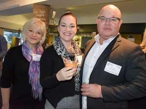 Maree McGrath, Lizzie Henebery and Paul Betti.