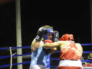 Ty Payne from Kingscliff throws an overhand at