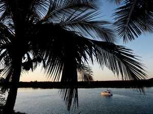 Boat on Pioneer River, Mackay