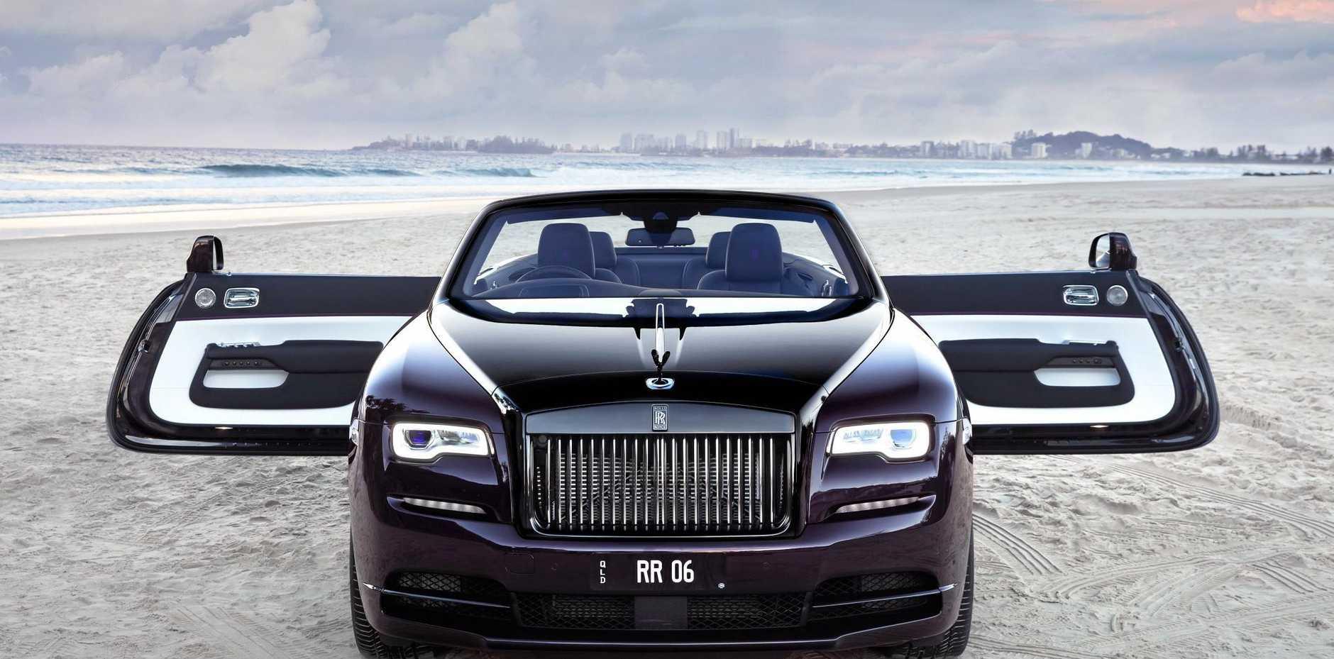 Wealthy Get Hands Dirty In Rolls Royce Dawn Black Badge Sunshine Coast Daily