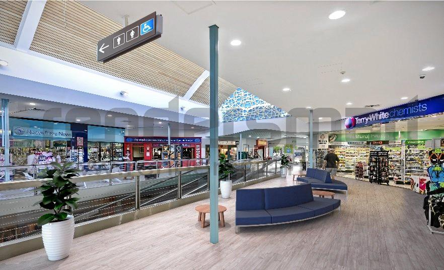 INSIDE AND OUT: An artist's impression of the upgraded interior of Noosa Junction Plaza.