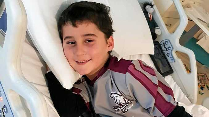 'Brain tumour removal made my son smarter'