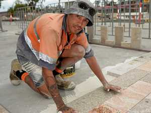 Pavers cracking up on new riverside development