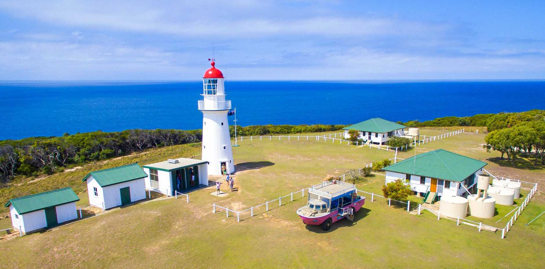 LARC TOUR: The Bustard Head Lighthouse features in a popular LARC trip called the Paradise Tour.