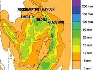 Widespread rain on Central Queensland radar this week