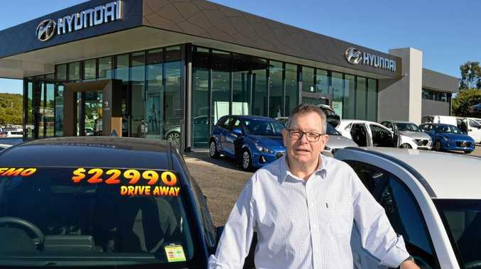 Grafton Hyundai dealer principal Michael Anstee says the $2 million showroom investment is a show of confidence in the region's economy.