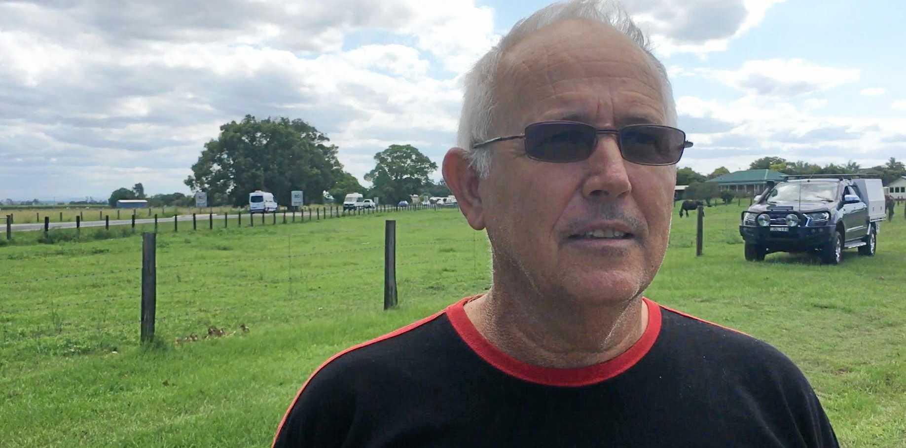 Ulmarra resident John Leask just wants his community to feel safe.