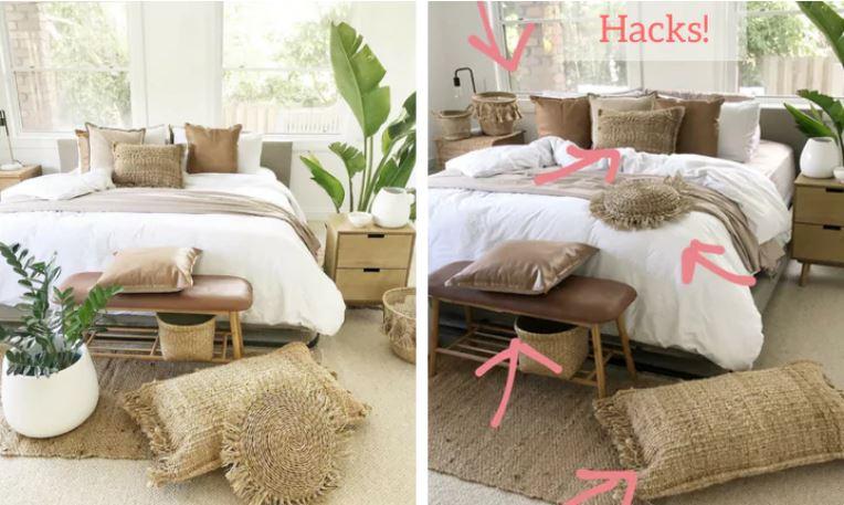 Mum's incredible Kmart bedroom hacks go viral | Morning Bulletin