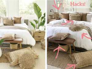 Mum's incredible Kmart bedroom hacks go viral