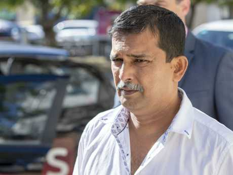 Dreamworld engineer Kamlesh Prasad has been giving evidence at the inquest into the 2016 disaster. Picture: AAP Image/Glenn Hunt