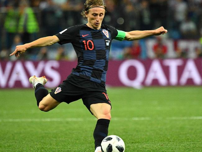 Luka Modric has had it on a string this tournament.