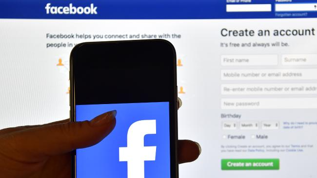 Police warn that Facebook and other social media platforms are not the place to report crime.