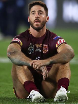 Queensland halfback Ben Hunt after the loss. (Matt King/Getty Images)