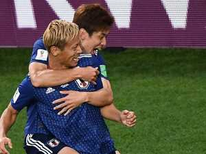 Super sub Honda makes World Cup history