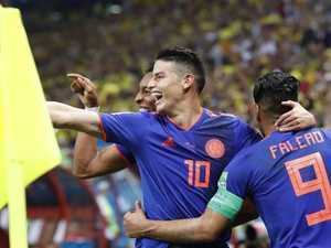 Star power: Stylish Colombia break Polish hearts
