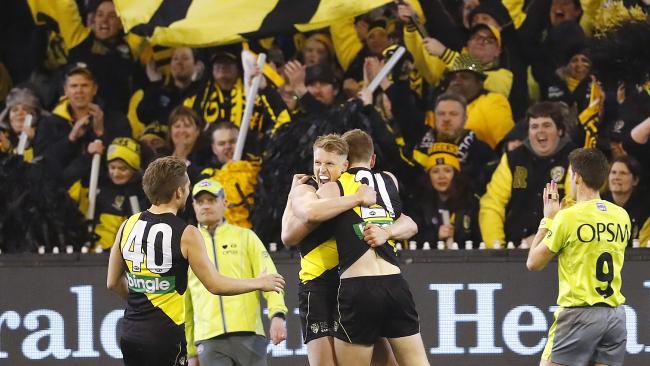 Richmond holds an incredible record at the MCG. Picture: Michael Klein