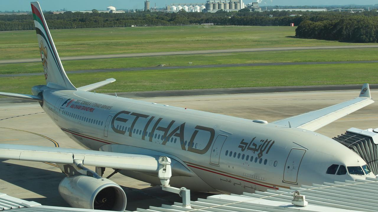 The rule change appears to have been sparked by a foiled attempt to bring down an Etihad plane from Sydney in 2017 (file image).