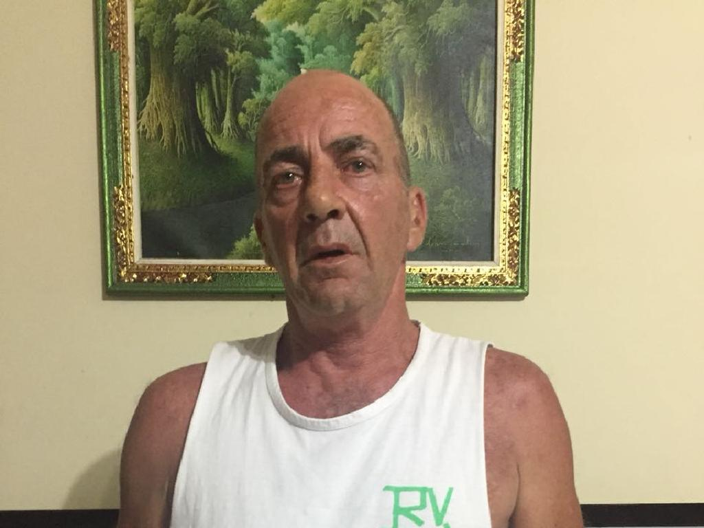 James Frederick Doyle, 61, formerly of West Pennant Hills, who has been arrested and detained in Bali. Picture: Supplied