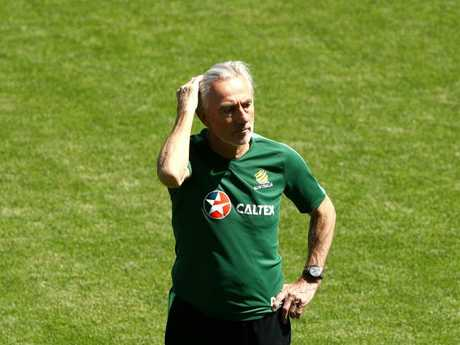 Bert van Marwijk has some selection headaches to sort out. Pic: Getty