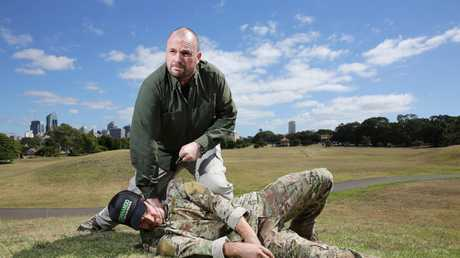 Former SAS soldier Paul Cale has been appointed by the Australian Army to train soldiers in martial arts.
